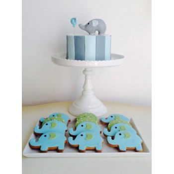 Biscuit Little Blue Pig