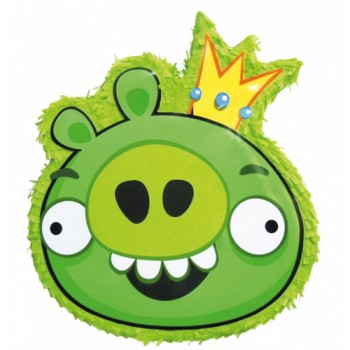 Angry Birds Green Pig Red Bird Pinata