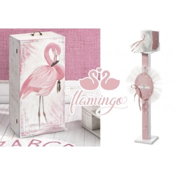 Christening Set Flamingo