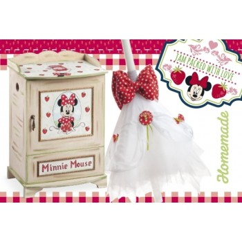 Christening Set Minnie Strawberry