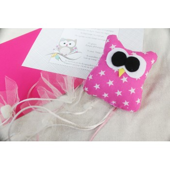 Fabric Owl Favour