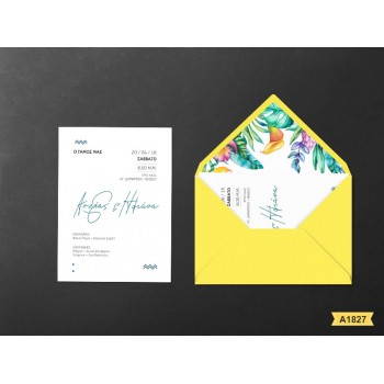 Wedding Invitation  Summer