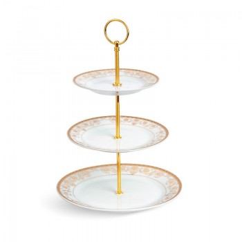 Porcelain Three Layer Cake Stand