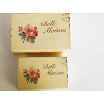 "Metal Boxes ""Belle Maison"""