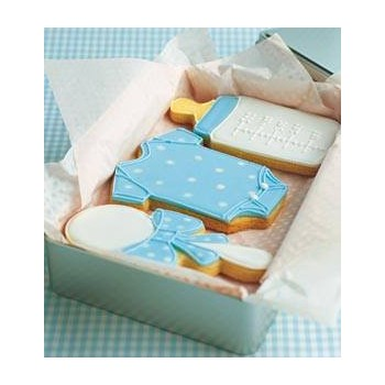 Biscuit Baby Born light blue