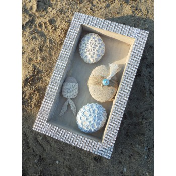 Glam tray greek stones souv