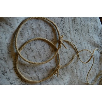Handmade Crownings Natural Cord Bows