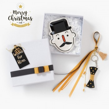Christmas Gift Set Little Gentleman Wishes for Him