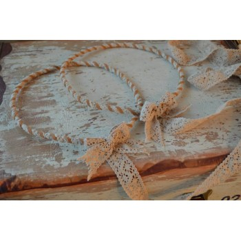 Handmade Crownings Lace Suede Leather