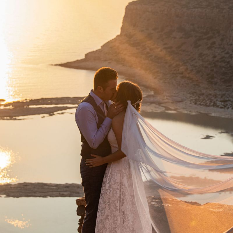 Anne & Paul | Elopement | Balos Crete